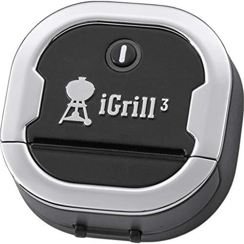 Weber Igrill 3 Thermometer, schwarz, 5,59cm x 6.6cm x 6.35cm, 7205 Genesis Handy