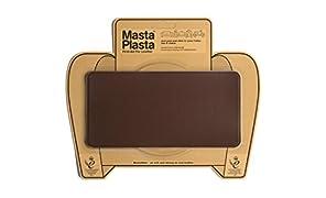 MastaPlasta - Toppa Marrone Medio autoadesiva per la riparazioni di Pelle. Scegli Dimensioni/Design. Pronto Soccorso per divani, sedili Auto, Borse, Giacche, ECC.