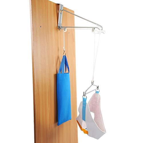 Dispositivo di trazione cervicale sopra la porta, sollievo dal dolore terapia terapia del collo per terapia fisica a casa, ufficio, viaggio