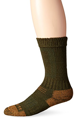 Carhartt Men's Comfort Stretch Steel Toe Socks, Moss, Sock Size:10-13/Shoe Size: 6-12 Carhartt Steel Toe Boots