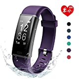 Lintelek Fitness Trackers, Activity Trackers Sports Watch Pedometer, Heart Rate Monitor, 14 Sports