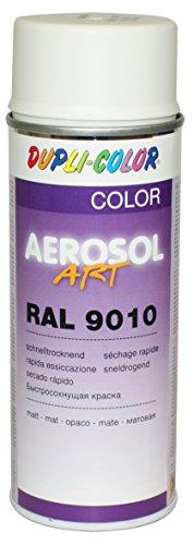 Dupli-Color 741548 Aerosol Art Ral 9010, 400 ml, matt