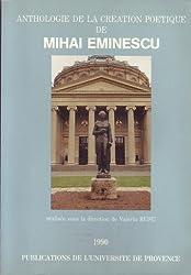Anthologie de la création poétique de Mihai Eminescu