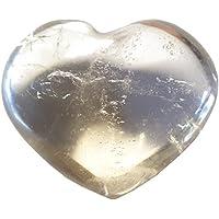 KRIO® - schönes Edelsteinherz aus Rauchquarz idealer Dekoartikel/Geschenkartikel preisvergleich bei billige-tabletten.eu