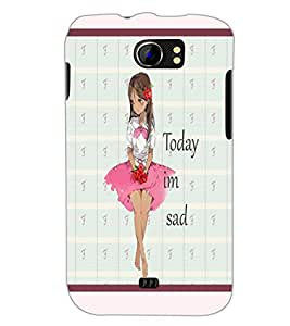 PrintDhaba Quote D-3797 Back Case Cover for MICROMAX A110 CANVAS 2 (Multi-Coloured)