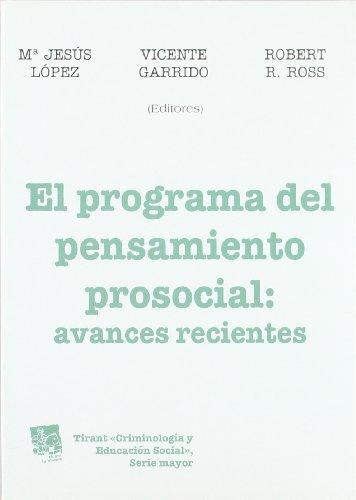 El programa del pensamiento prosocial : Avances recientes