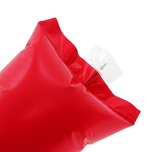 MMRM Gonflable de Tonnerre Bâton de Bruit Bang Bang Football Basket Clapper Cheerleading Équipement - Rouge