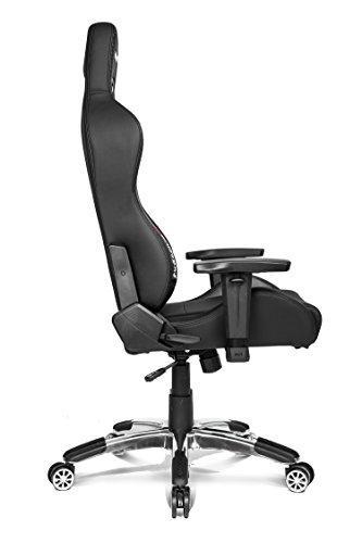 AKRacing Premium V2 – AK-7002-CB – Silla Gaming, Color Negro Carbono