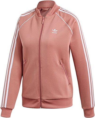 adidas Damen SST Jacke, Ash Pink, 40