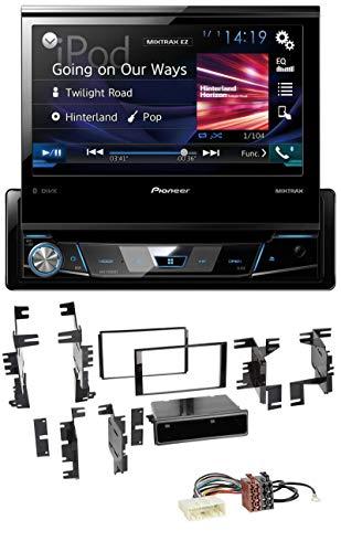 Pioneer AVH-X7800BT CD DVD MP3 USB Bluetooth AUX Autoradio für Nissan Cube ab 2009 Frontier ab 2013 Juke ab 2011 - 2009 Nissan Frontier