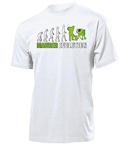 Golebros Maurer Evolution 5898 Herren T-Shirt (H-Grün) Gr. L