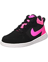 hot sale online a88dc 47ac4 Nike Court Borough Mid (TD), Chaussures Mixte bébé