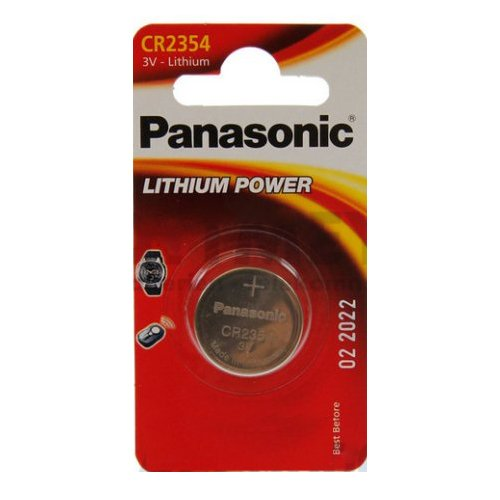 Panasonic Cr2354 Micropila al Litio, Blister 1, Argento
