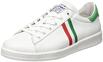 El Ganso Low Top Blanca Bandera Italia - Zapatillas, Unisex, Color , Talla 37