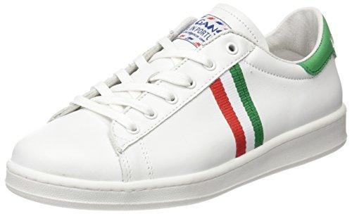 El Ganso Unisex - Adulto Low Top Blanca Bandera Italia scarpe sportive bianco Size: 41