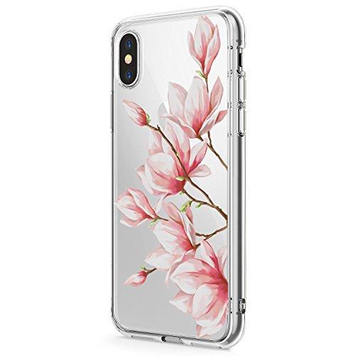 Schutzhülle für iPhone XR, Blumen-Design, niedliche Blumen, für Mädchen/Frauen, Schlankes Weiches Silikon, TPU, 5 (Iphone 5 Handy-fällen, Speck)