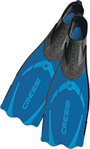 Cressi Pluma - Pinne Alta qualità per Immersioni/Apnea/Snorkeling