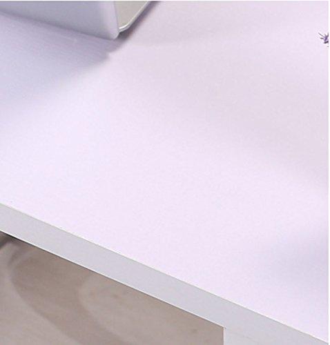Estantería, estantería de madera a base de paneles blanco se aplica a la sala de estar
