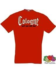 world-of-shirt Herren T-Shirt Cologne You`ll never walk alone