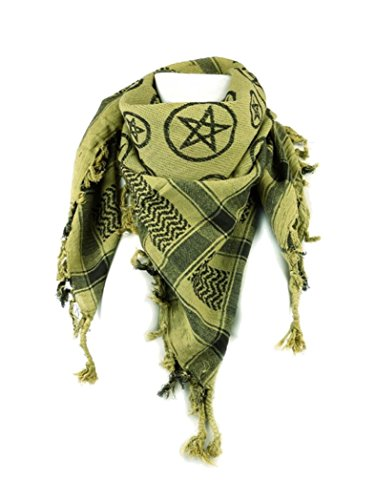 OLP en forme de pentagramme avec foulard jaune