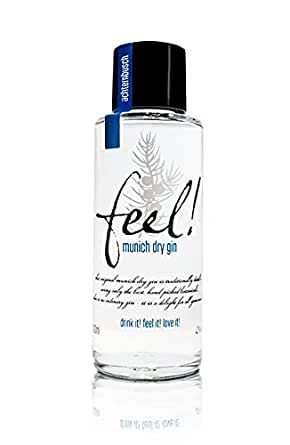 Feel! Munich Dry Gin - Bio Micro-Batch Handmade (3 x 0.1 l)