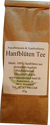 *Hanfblüten Tee (65g)*