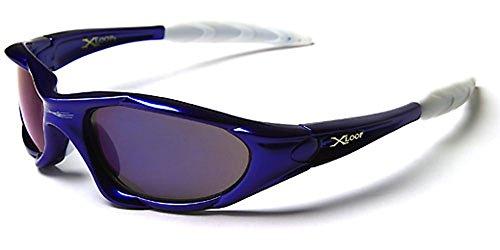 X-Loop Sonnenbrillen - Sport - Radfahren - Skifahren - 100% UV400 Schutz (Schwarz)