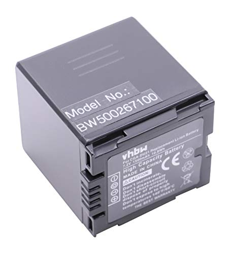Gs500 Camcorder (vhbw Akku 1500mAh für Camcorder Kamera Panasonic NV-GS400, NV-GS500, PV-GS50, PV-GS50S, PV-GS55, PV-GS70, PV-GS120, PV-GS200 wie CGA-DU21.)