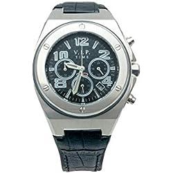 V.I.P Time Clock Black