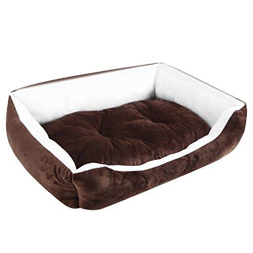 Ardisle–perro mascota cama cojín–Suave y cálida cesta cachorro gato alfombrilla gran tamaño mediano XL cómodo