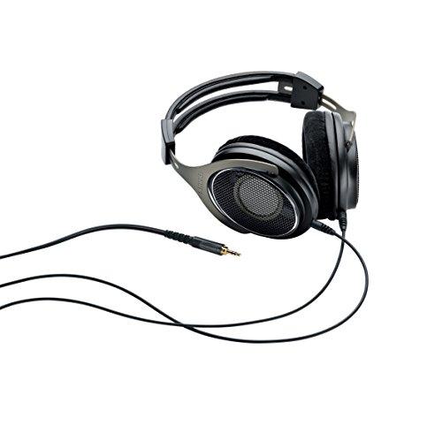 Shure SRH1840, offener Kopfhörer / Over-ear, schwarz/silber, High-End, geräuschunterdrückend, Kabel austauschbar, Velourpolster, natürlicher Klang, erweiterte Höhen, akkurater Bass, gematchte Wandler - 7