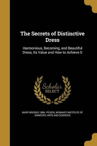 SECRETS OF DISTINCTIVE DRESS