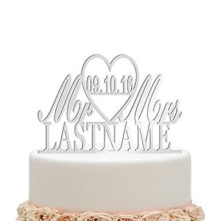 Cake Topper Hochzeit Personalisiert Heimwerker Markt De
