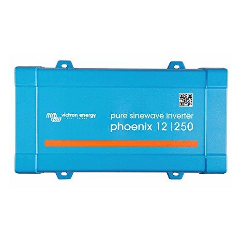 Victron Energy Netzinvertitore ondulare Phoenix 12/250 250 W 12 V/DC 9.2 fino a 17 V Schraubklemmen Schutzk
