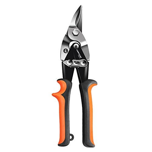 Garden Metal Sheet Cutting Scissors PVC Pipe Cutter Professional Industrial Iron Shears Tin Snips - 1