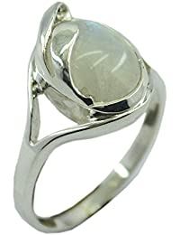 55Carat Genuine Red Coral Silver Ring For Women Adjustable 3 Carat Sterling Astrological Size UK I-Z ZOAbxC