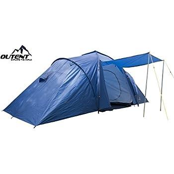 Zelt Cromwell VI f/ür 6 Personen Outent/® Campingzelt Familienzelt