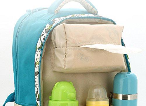 Multifunktionale Großraum-Mama-Tasche, Schultern aus dem Paket, Mutter-Paket, Mode Mutter Tasche, Mutter Baby-Tasche ( Farbe : Pure black ) Red+black
