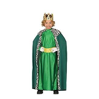 Guirca Disfraz de Rey Mago Verde para Niño