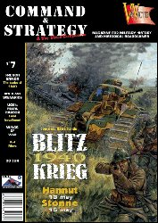 Command & Strategy #7 Blitz Krieg 1940 Board War Game Magazine VAE Victis (1940-magazin)