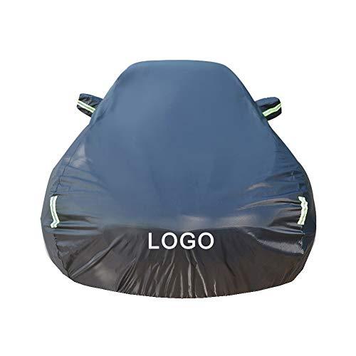 QXL-car cover Autoabdeckung, Kompatibel mit Nissan Qashqai Hohe Qualität Wasserdicht Autoabdeckung Draußen Sonnenschutz Kratzfest UV-Schutz,Blackplusvelvet