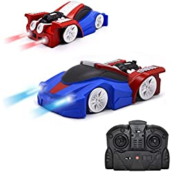 QUN FENG Télécommande De Voiture Télécommande Mur Escalade Stunt Voiture Électrique Gravity Sports Racing voiture Jouet Voiture