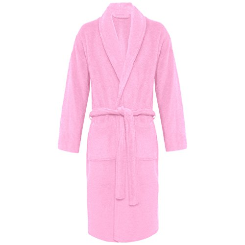 MyShoeStore -  Accappatoio  - Donna Pink / Shawl Neck