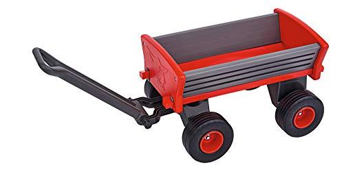 BIG Spielwarenfabrik 800056602 - BIG Peppy Handwagen, Bollerwagen, ab 3 Jahren, Transportwagen, große Ladefläche - Big 0