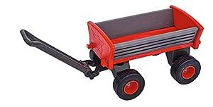 BIG Spielwarenfabrik 800056602 Big-Peppy - Carrito de bebé, Color Gris, Negro y Rojo