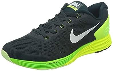 Nike  Lunarglide 6, Chaussures de Gymnastique homme - noir - (), 44 EU EU