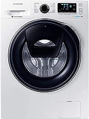 Lave linge hublot 9 Kg Samsung WW90K6414QW - Lave linge Frontal - Essorage 1400 tr/min - Fin différée - Affich