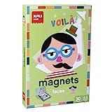 Imagen de APLI Kids   Caras Juego Magnético