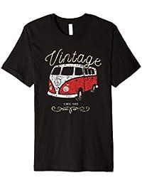 Bulli Vintage since 1950 Tee, Vanlife Bulli Fan T-Shirt