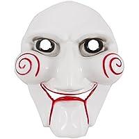 Motosierra Masacre Saw Puppet máscaras Horror máscara para Cosplay Fiesta